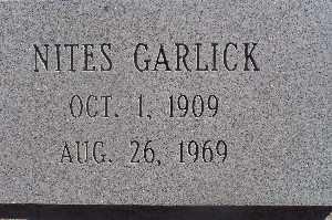 GARLICK, NITES - Mohave County, Arizona   NITES GARLICK - Arizona Gravestone Photos