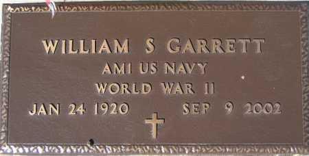 GARRETT, WILLIAM S - Mohave County, Arizona | WILLIAM S GARRETT - Arizona Gravestone Photos