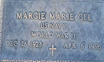 GEE, MARGIE MARIE - Mohave County, Arizona | MARGIE MARIE GEE - Arizona Gravestone Photos