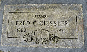 GEISSLER, FRED C - Mohave County, Arizona   FRED C GEISSLER - Arizona Gravestone Photos