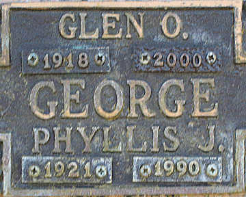 GEORGE, GLEN O - Mohave County, Arizona | GLEN O GEORGE - Arizona Gravestone Photos