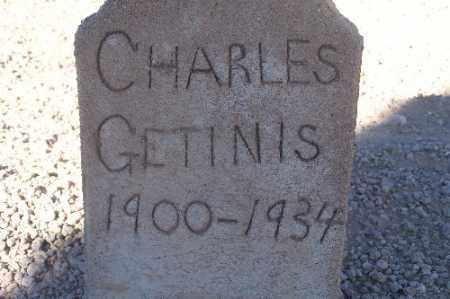 GETINIS, CHARLES - Mohave County, Arizona | CHARLES GETINIS - Arizona Gravestone Photos