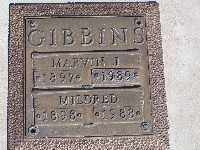 GIBBINS, MARVIN J - Mohave County, Arizona | MARVIN J GIBBINS - Arizona Gravestone Photos