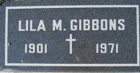 GIBBONS, LILA M - Mohave County, Arizona | LILA M GIBBONS - Arizona Gravestone Photos
