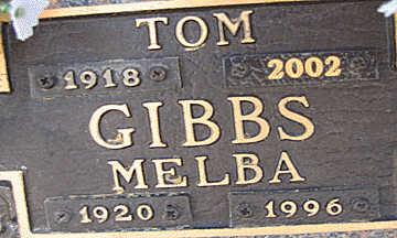 GIBBS, TOM - Mohave County, Arizona | TOM GIBBS - Arizona Gravestone Photos