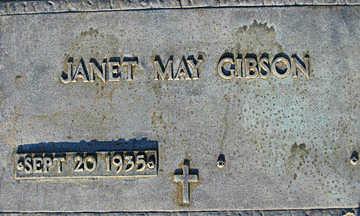 GIBSON, JANET MAY - Mohave County, Arizona | JANET MAY GIBSON - Arizona Gravestone Photos