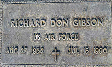 GIBSON, RICHARD DON - Mohave County, Arizona | RICHARD DON GIBSON - Arizona Gravestone Photos