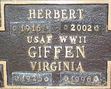 GIFFEN, HERBERT - Mohave County, Arizona | HERBERT GIFFEN - Arizona Gravestone Photos