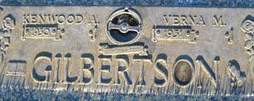 GILBERTSON, KENWOOD A - Mohave County, Arizona   KENWOOD A GILBERTSON - Arizona Gravestone Photos
