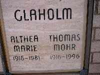 GLAHOLM, ALTHEA MARIE - Mohave County, Arizona | ALTHEA MARIE GLAHOLM - Arizona Gravestone Photos
