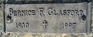GLASFORD, BERNICE F - Mohave County, Arizona | BERNICE F GLASFORD - Arizona Gravestone Photos