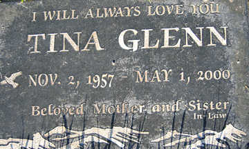 GLENN, TINA - Mohave County, Arizona | TINA GLENN - Arizona Gravestone Photos