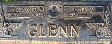 GLENN, MARY V - Mohave County, Arizona | MARY V GLENN - Arizona Gravestone Photos