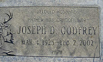 GODFREY, JOSEPH D - Mohave County, Arizona | JOSEPH D GODFREY - Arizona Gravestone Photos
