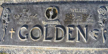 GOLDEN, WILLIE - Mohave County, Arizona   WILLIE GOLDEN - Arizona Gravestone Photos