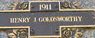 GOLDSWORTHY, HENRY J - Mohave County, Arizona | HENRY J GOLDSWORTHY - Arizona Gravestone Photos