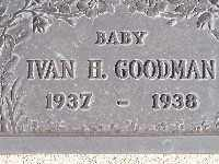 GOODMAN, IVAN H - Mohave County, Arizona | IVAN H GOODMAN - Arizona Gravestone Photos