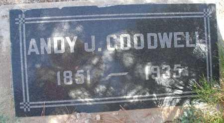 GOODWELL, ANDY J. - Mohave County, Arizona | ANDY J. GOODWELL - Arizona Gravestone Photos
