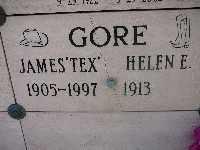 "GORE, JAMES ""TEX"" - Mohave County, Arizona | JAMES ""TEX"" GORE - Arizona Gravestone Photos"