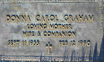 GRAHAM, DONNA CAROL - Mohave County, Arizona | DONNA CAROL GRAHAM - Arizona Gravestone Photos