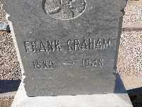 GRAHAM, FRANK - Mohave County, Arizona   FRANK GRAHAM - Arizona Gravestone Photos