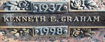 GRAHAM, KENNETH E - Mohave County, Arizona   KENNETH E GRAHAM - Arizona Gravestone Photos