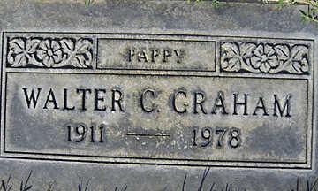GRAHAM, WALTER C - Mohave County, Arizona | WALTER C GRAHAM - Arizona Gravestone Photos