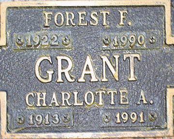 GRANT, FOREST F - Mohave County, Arizona | FOREST F GRANT - Arizona Gravestone Photos