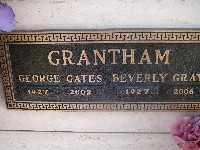 GRANTHAM, GEORGE GATES - Mohave County, Arizona | GEORGE GATES GRANTHAM - Arizona Gravestone Photos