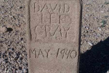 GRAY, DAVID LEE - Mohave County, Arizona | DAVID LEE GRAY - Arizona Gravestone Photos
