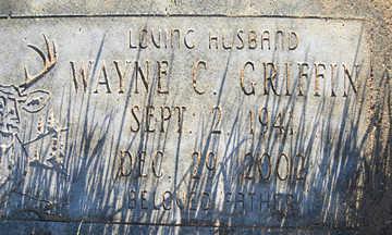 GRIFFIN, WAYNE C - Mohave County, Arizona | WAYNE C GRIFFIN - Arizona Gravestone Photos