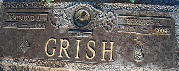 GRISH, RAYMOND A - Mohave County, Arizona   RAYMOND A GRISH - Arizona Gravestone Photos