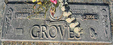 GROVES, FRED - Mohave County, Arizona | FRED GROVES - Arizona Gravestone Photos