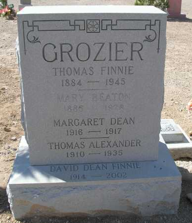 GROZIER, MARY BEATON - Mohave County, Arizona | MARY BEATON GROZIER - Arizona Gravestone Photos