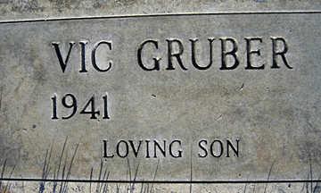 GRUBER, VIC - Mohave County, Arizona | VIC GRUBER - Arizona Gravestone Photos
