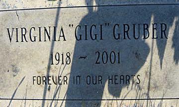 GRUBER, VIRGINIA - Mohave County, Arizona | VIRGINIA GRUBER - Arizona Gravestone Photos
