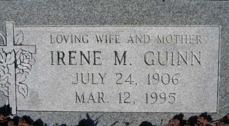 GUINN, IRENE M - Mohave County, Arizona | IRENE M GUINN - Arizona Gravestone Photos