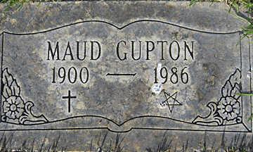 GUPTON, MAUD - Mohave County, Arizona | MAUD GUPTON - Arizona Gravestone Photos