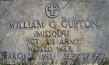 GUPTON, WILLIAM OSCAR - Mohave County, Arizona | WILLIAM OSCAR GUPTON - Arizona Gravestone Photos