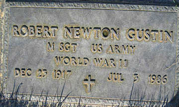GUSTIN, ROBERT NEWTON - Mohave County, Arizona | ROBERT NEWTON GUSTIN - Arizona Gravestone Photos