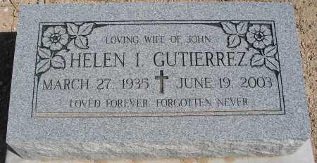 GUTIERREZ, HELEN I. - Mohave County, Arizona | HELEN I. GUTIERREZ - Arizona Gravestone Photos