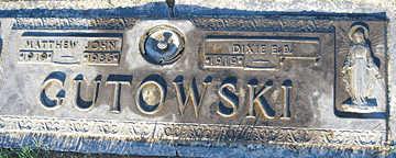 GUTOWSKI, DIXIE E. B. - Mohave County, Arizona   DIXIE E. B. GUTOWSKI - Arizona Gravestone Photos