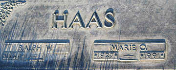 HAAS, MARIE O - Mohave County, Arizona | MARIE O HAAS - Arizona Gravestone Photos