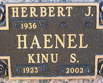 HAENEL, HERBERT J - Mohave County, Arizona | HERBERT J HAENEL - Arizona Gravestone Photos