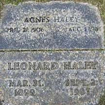 HALEY, AGNES - Mohave County, Arizona | AGNES HALEY - Arizona Gravestone Photos