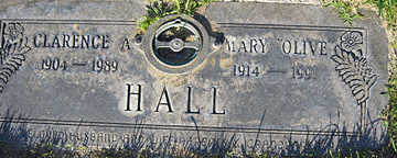 HALL, MARY OLIVE - Mohave County, Arizona | MARY OLIVE HALL - Arizona Gravestone Photos