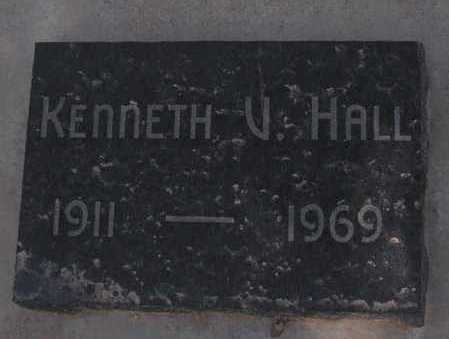 HALL, KENNETH V. - Mohave County, Arizona | KENNETH V. HALL - Arizona Gravestone Photos