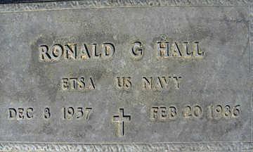 HALL, RONALD G - Mohave County, Arizona   RONALD G HALL - Arizona Gravestone Photos