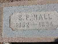 HALL, S P - Mohave County, Arizona | S P HALL - Arizona Gravestone Photos