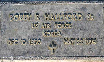 HALLFORD, BOBBY R SR. - Mohave County, Arizona | BOBBY R SR. HALLFORD - Arizona Gravestone Photos
